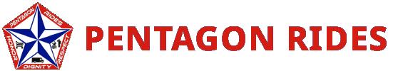 Pentagon Rides Logo